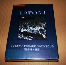 LAIBACH / OCCUPIED EUROPE 1994-95 / BOX SET BOOKLET CD VHS / NSK2CDX NEW SEALED