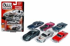 AUTO WORLD 1:64 PREMIUM RELEASE 4 - VERSION A Diecast Car Set Of 6 - AW64032A-48