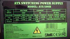 Generic 500W 24-Pin ATX Switching Power Supply Unit / PSU ATX-500B