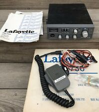1976 Lafayette HB-750 Vintage 23 Channel CB 99-33318W Manual Complete In Box