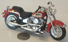 "Maisto Harley-Davidson Red Road King Motorcycle #49 NICE 6"" (See Photo)"