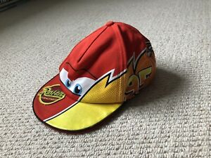 CHILDS DISNEY CARS LIGHTNING MCQUEEN CAP.