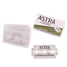 100 Astra Superior Platinum Double Edge Razor Blades Made in Russia