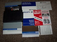 2004 Subaru Legacy Outback 2.5GT L 35th Anniversary 2.5L Owner User Guide Manual