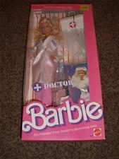 Vintage Doctor Barbie Doll Dr.Hospital 3850 NRFB 1987 Mattel MIB 20pc Blonde