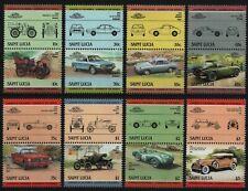 St. Lucia 1984 - Mi-Nr. 696-711 ** - MNH - Autos / Cars
