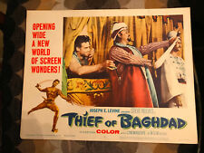 Thief Of Bagdad 1961 MGM lobby card Steve Reeves