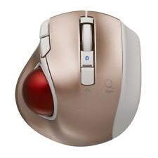 Digio 2 Q Small Trackball Bluetooth Mouse Quiet5 Button Pink 48375 4902205483755