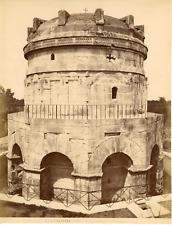 Italie, Ravenna, mausolée de Théodoric, tomba di Teodorico  Vintage albumen prin