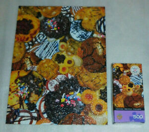 Cookie Crumbles Jigsaw Puzzle 500 MasterPieces Dessert Food Sweet Shoppe