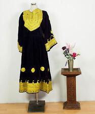 Orient Nomaden Tracht afghan samt kleid afghanistan traditional velvet dress N10