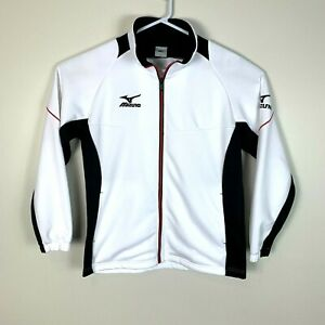 Mizuno White Golf Premium Full Zip Jacket Size Men's Small