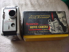 KODAK 8mm BROWNIE MOVIE CAMERA #82 IN ORIGINAL BOX VERY NICE COND. FREE USA SHIP