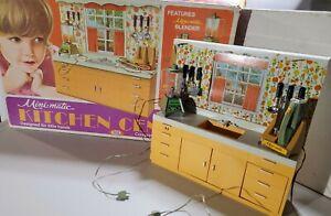 Vintage Ideal Kitchen Center Mini Matic 1970 COMPLETE ORIGINAL BOX