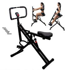 Power Rider Total Crunch Bike 2-1 AB Crunch Bike Workout Muscle Horse Rider