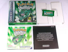 "Spiel: POKEMON SMARAGD EDITION "" KOMPLETT OVP für den Gameboy Advance + SP"