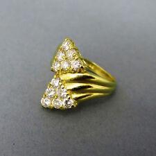 Echtschmuck-Ringe aus Gelbgold mit P1 Brillantschliff
