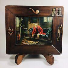 RARE Mission Arts Craftsman Oak Picture Frame Gibson Antique STUNNING