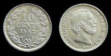 Netherlands - 10 Cent 1887 Prachtig/UNC