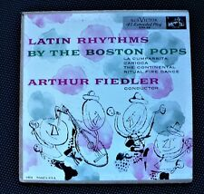"ANDY WARHOL record cover art ""Latin Rhythms"" RCA 45 Extended play Arthur Fiedler"