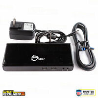 SIIG USB 3.0 Dual Video JU-DK0211-S1 Docking Station HDMI DVI for Windows & Mac