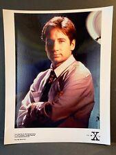X-Files Creation Colour 10x8 Photo - Fox Mulder DAVID DUCHOVNEY - B