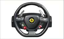 New Set PC XBOX 360 Thrustmaster Ferrari 458 Italia Steering Pedals Racing Wheel