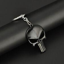 Männer ist Punkschädelform Punisher Schädel Design Metall Schlüsselanhänger H0Z9