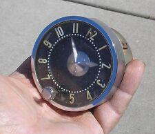 1955 1956 Chevy Bel Air Clock,  Also Fits 58-62 Corvette 55 56