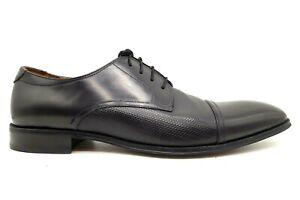 Florsheim Black Leather Cap Toe Lace Up Dress Oxfords Shoes Men's 14 M