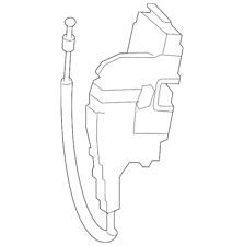 Genuine Mercedes-Benz Door Lock Actuator Motor 204-720-15-35