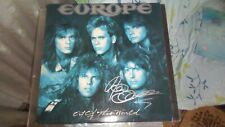 Europe LP 1988 Out Of This World SIGNED