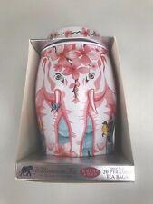 WILLIAMSON TEA ELEPHANT CADDY 40 BLACK TEA & PEACH BAG (BLOSSOM ) 2017