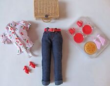CHERRY PIE PICNIC BARBIE WILLOWS WISCONSIN OUTFIT AND ACCESSORIES ONLY