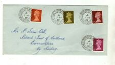 1968 NEW DEFINITIVE ISSUE  - KILLIECRANKIE CDS FDC FROM COLLECTION F8