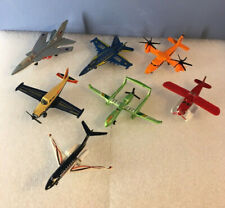 Lot of Matchbox Fighter jets, Planes, Drone, 1975 Piper Comanche, 1977 F132, OMG