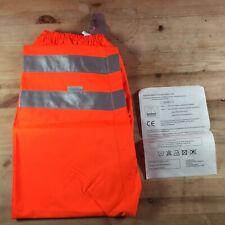 Hi Viz Orange 3M Scotchlite Waterproof Trousers XL Extra Large