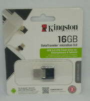 Clé USB 3.0 16 Go Kingston OTG USB&MICROUSB MicroDuo 3.0 Pour Smarphone & Tablet
