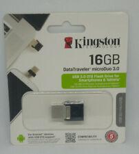 Clé USB 3.0 16 Go Kingston OTG USB&MICROUSB MicroDuo 3.0 Pour Smarphone & Tablet