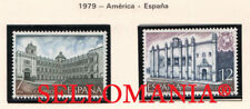 1979 AMERICA ESPAÑA BOGOTA COLOMBIA LIMA PERU EDIFIL 2544 / 45 ** MNH    TC21191