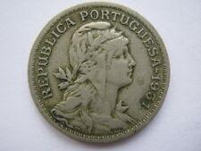 Portugal 1931 copper nickel 50 Centavos GF