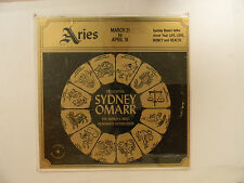 Sydney Omarr (sealed Lp) ARIES: MARCH 21--APRIL 19~Astro M astrological lecture