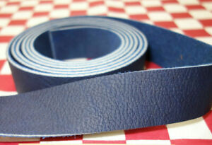 HORWEEN CHROMEPACK BLUE - DARK COBALT, 7 OZ. LEATHER STRAP, SELECT YOUR SIZE.