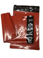 RED Mailing Bags POLY PLASTIC SHIPPING POSTAGE PACKING SEAL SEAL BAGS