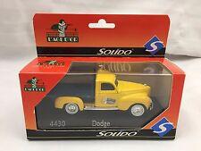 SOLIDO - L'AGE D'OR - 4430 DODGE TRUCK - SUNLIGHT SOAP - DIE-CAST MODEL VEHICLE