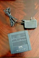 ZyXel P-600 Series Modem Network Adsl Router ZyXel P-660R-D1 with Power Adapter