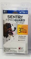 SENTRY Fiproguard Dogs, Flea & Tick Prevention for Dogs 89-132 LBS