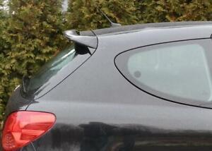 Heckspoiler für Peugeot 207 3/5-Tür 2006-12 Dachspoiler GRUNDIERT-Tuning-Palace