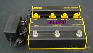 Markbass SUPER SYNTH Bass Guitar Effect Pedal Made in Italy excellent