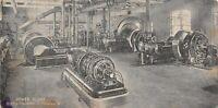 Hershey Pennsylvania~Chocolate Company Power Plant Interior~Generators~1907 PC